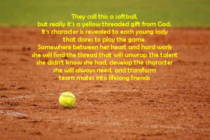 Softball poem